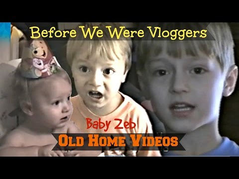BABY ZEB - Old Home Videos - Before We Were Daily Vloggers! FoolyLiving