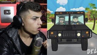 [Reaccion] Farruko, Anuel AA, Kendo Kaponi - Delincuente (Pseudo Video) Themaxready