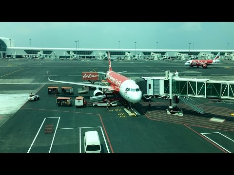 AIRASIA | FLIGHT REVIEW AK365 SURABAYA TO KUALA LUMPUR