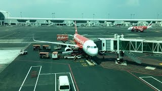 AIRASIA   FLIGHT REVIEW AK365 SURABAYA TO KUALA LUMPUR