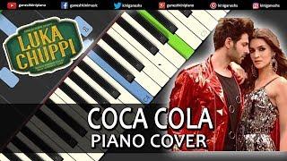 Coca Cola Song Luka Chuppi | Piano Cover Chords Instrumental By Ganesh Kini