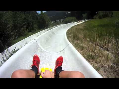 longest alpine slide in colorado. winter park