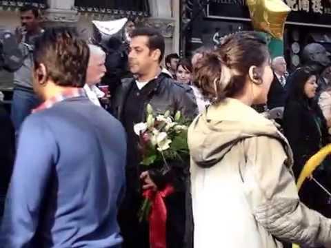 Salman Khan and Kabir Khan in Dublin for...