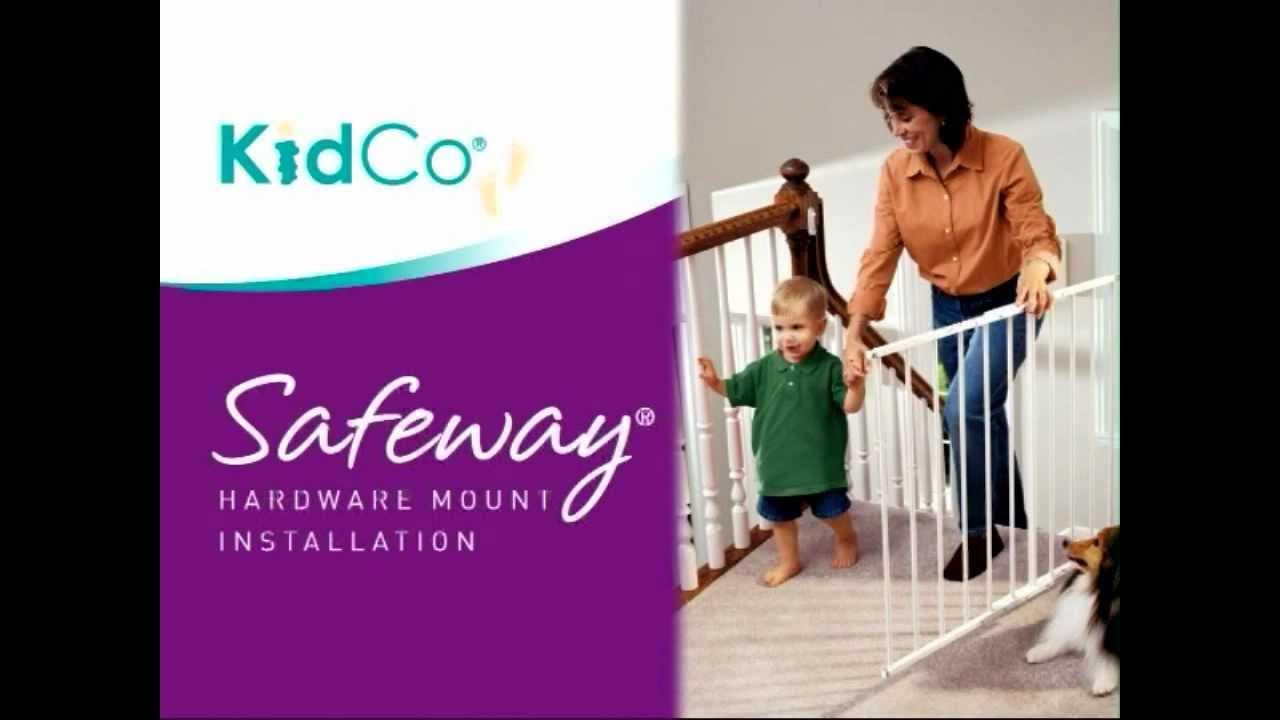 Kidco Safeway Hardware Mount Gate Youtube