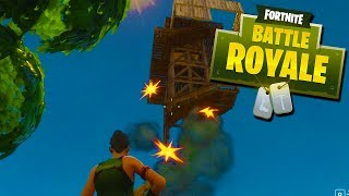 TOWER IDIOTS! - Fortnite Battle Royale FUNNY MOMENTS with The Crew!