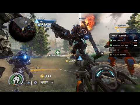 Titanfall 2 Frontier Defense Monarch The Apex Predator upgrade