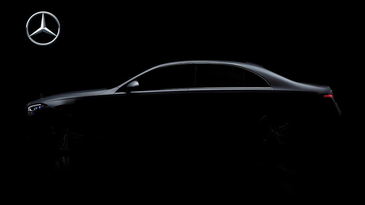 (Уникално Видео) - Преди няколко часа Mercedes-Benz представи НАЙ-НОВАТА S-Classa!