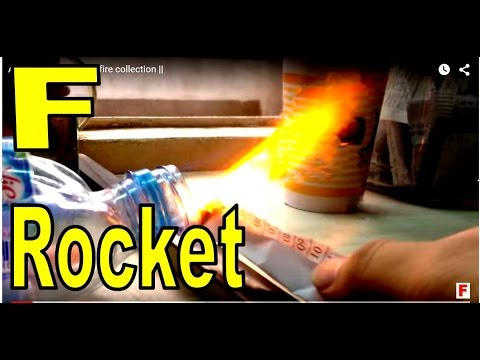 Alcohol Rocket fuel    fire collection   
