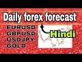 ( 10 july ) daily forex forecast  EURUSD / GBPUSD / USDJPY / GOLD  forex trading  Hindi