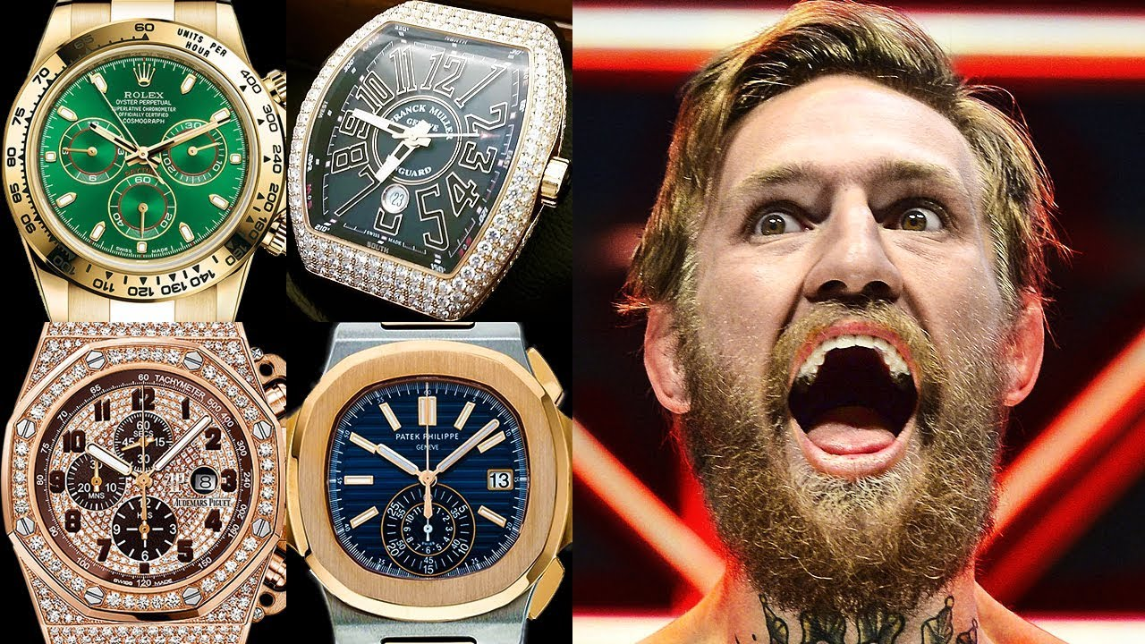Conor Mcgregor Watch Collection Rated From 1 To 10 Youtube