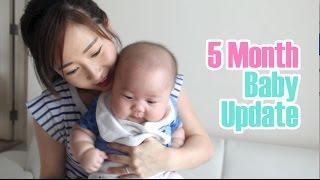 5 Month Baby + Postpartum Update