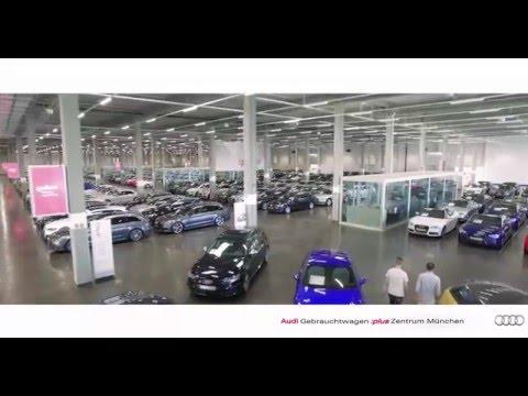 Weltweit Größtes Audi Gebrauchtwagen :plus Zentrum In München