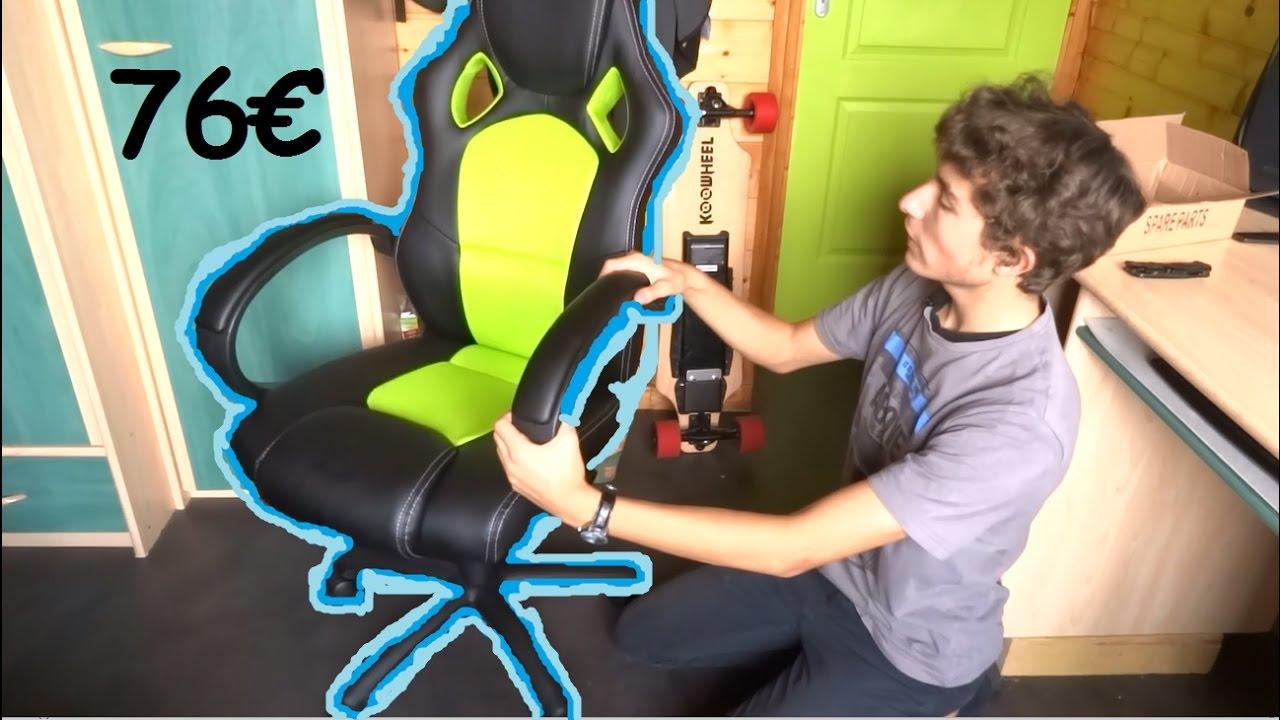 review fauteuil de bureau gaming a 76 amazon