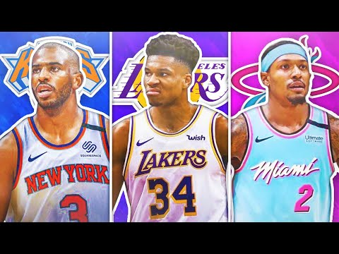8 NBA SUPERSTARS THAT WILL BE TRADED IN THE 2020 OFFSEASON