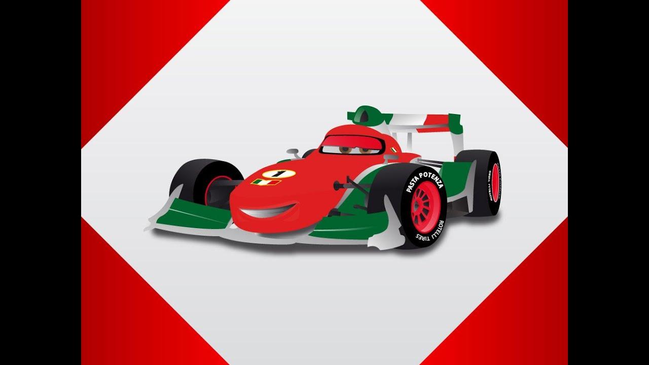 Course des voitures dessin anim pour les enfants youtube - Course de voiture dessin anime ...