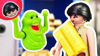 KARLCHEN KNACK #47 - Karlchen und Slimers Bankraub - Playmobil Polizei Film