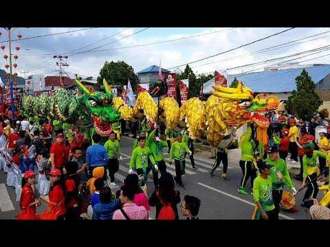 Festival Cap Go Meh Singkawang 2018 || Pemecahan Rekor Muri || Cap Go Meh Terbesar Dunia. Part. 1-4 Mp3