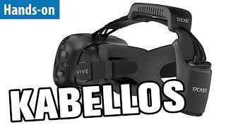 HTC Vive endlich kabellos! - Hands-on   deutsch / german