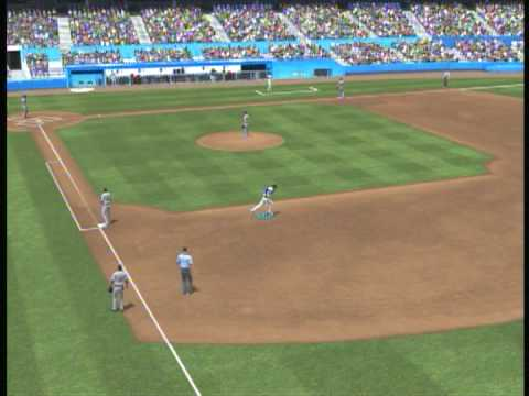 MLB 2K9 Bunt Home Run Glitch!