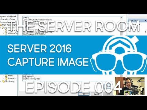The Server Room - Create Windows Server 2016 Reference Image