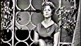 CONNIE FRANCIS ON TV: LIPSTICK ON YOUR COLLAR (1959) YouTube Videos