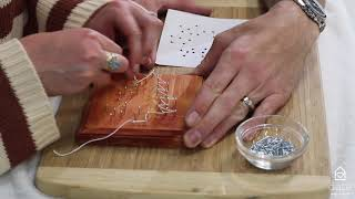 Tree String Art - Guided Instructions - Date Night In Box