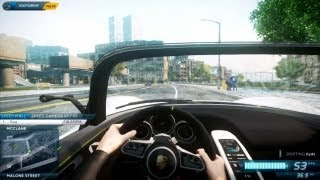 need for speed most wanted 2012 cockpit view first person mod