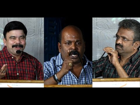 Singam Puli and Powerstar Srinivasan Fight in Thoppi audio launch | Controversial Speech