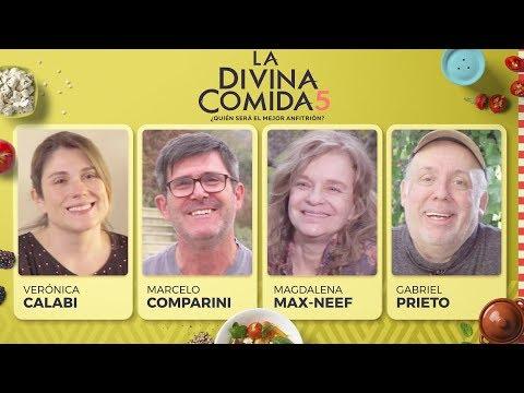La Divina Comida - Marcelo Comparini, Verónica Calabi, Magdalena Max-Neef Y Gabriel Prieto