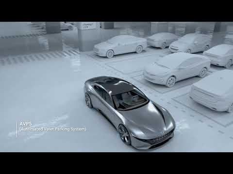 [HMG TV]  The electric vehicle wireless charging system & automated valet parking system
