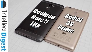 Coolpad Note 5 Lite VS Redmi 3S Prime | Intellect Digest