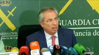Golpe de la Guardia Civil al tráfico de hachís en dos operaciones en Cádiz