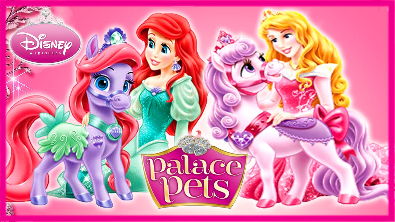 seashell and aurora bloom ponies care compilation games   youtube