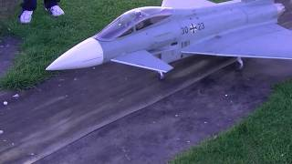 Eurofighter Typhoon Big Twin 127mm Edf Rc Jet Demo