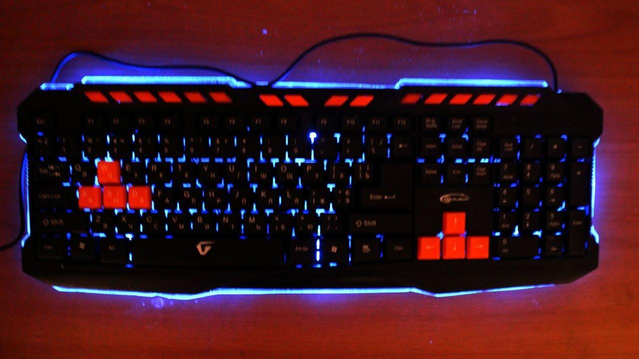Как самому сделать клавиатуру светящейся