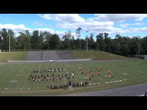 2018 Mud Creek Marching Festival: Winston County High School Band