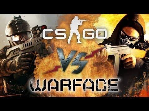 Реп битва Counter strike vs warface