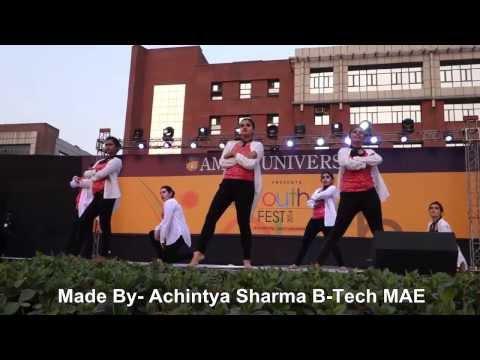 Amity University, Amity Youth Fest-2014 (Day-2) [Main Stage Dance]