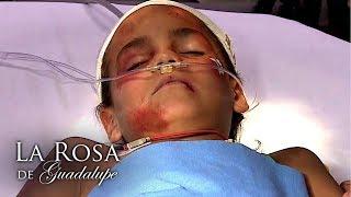 La Rosa de Guadalupe  Mi nombre es Rafita y soy un nio golpeado