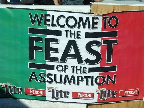 The Feast of the Assumption   Little Italy, Cleveland, Ohio 8 12 2017