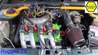 видео Ваз-2114 с 16-клапанным двигателем от Приоры