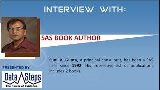 Interview Sunil Gupta, SAS Book Author
