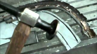 1965 Galaxie rain gutter repair/fabrication