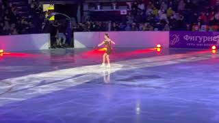 Евгения Медведева Анна Каренина шоу Чемпионы на льду 02 04 2021 Казань