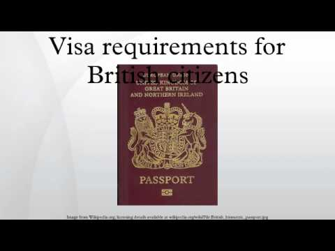 Visa requirements for British citizens