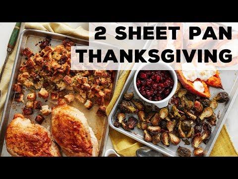 Thanksgiving on 2 Sheet Pans  Food Network