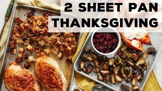 Thanksgiving on 2 Sheet Pans | Food Network