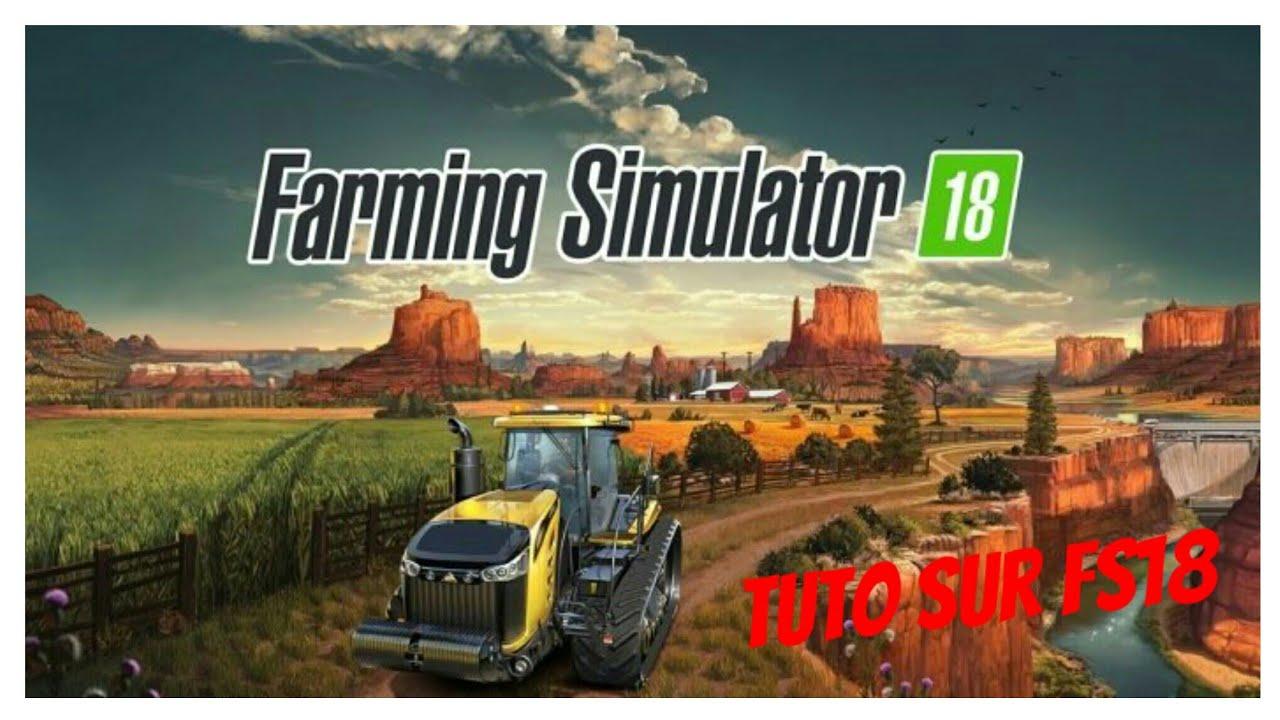 Tuto Comment Avoir Farming Simulator 2018 Gratuitement Youtube