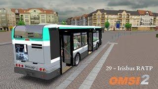[OMSI 2] Episode n°30 - Irisbus Citelis 12 RATP, Nouveau klaxon et blabla divers !