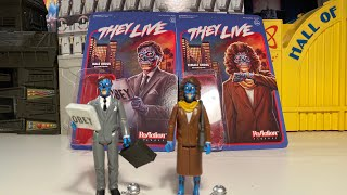 They Live Male & Female Ghoul ReAction Figures !!!